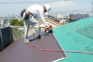 屋根の張替えイメージ